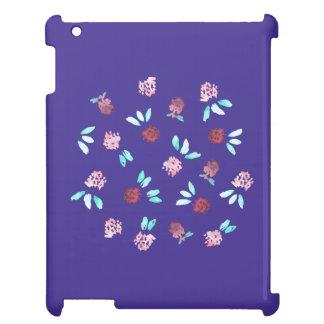Klöver blommar det glansiga iPadfodral iPad Mobil Skydd