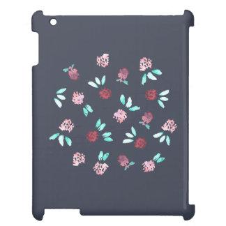 Klöver blommar det glansiga iPadfodral iPad Skydd