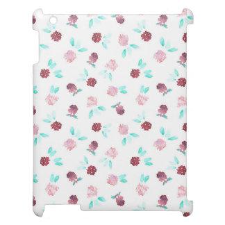 Klöver blommar det Matte iPadfodral iPad Fodral