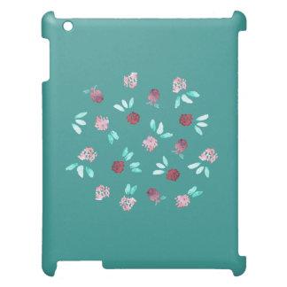Klöver blommar det Matte iPadfodral iPad Skal