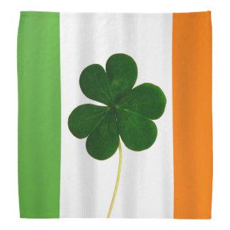 Klöver för Shamrock för flagga för lyckliga Sts Huvud Kerchiefs