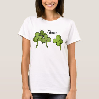 Klöver trakasserar T-tröja Tröja