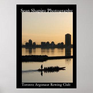 Klubb för Toronto Argonautrodd Poster