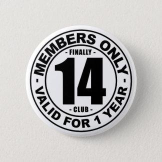 Klubb slutligen 14 standard knapp rund 5.7 cm