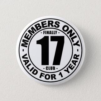 Klubb slutligen 17 standard knapp rund 5.7 cm