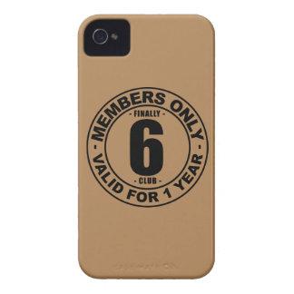 Klubb slutligen 6 iPhone 4 cover
