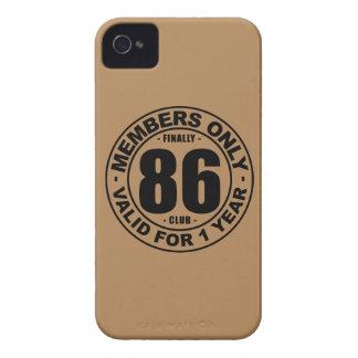 Klubb slutligen 86 iPhone 4 Case-Mate skal