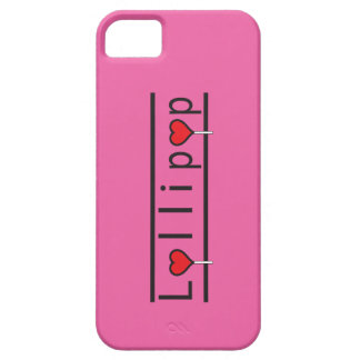 Klubba - rosa iPhonefall iPhone 5 Case-Mate Skydd