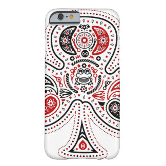 Klubbar - fodral för iPhone 6 (vit/rött/svarten) Barely There iPhone 6 Fodral