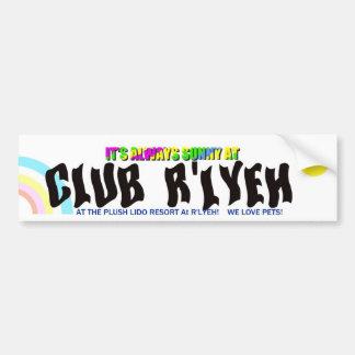 Klubben R'lyeh tillgriper rikliga Sticke Bildekal