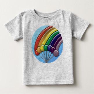 Klubbor och regnbågar tee shirt
