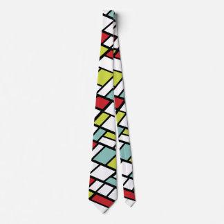 Kluven kompletterande modern abstrakt för innegrej slips