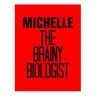 Klyftig biolog vykort