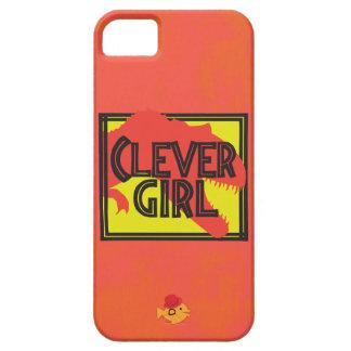 Klyftig flickaiphone för CRAZYFISH iPhone 5 Case-Mate Skydd
