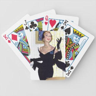 Klyftiga kvinnor är farliga för spelkort