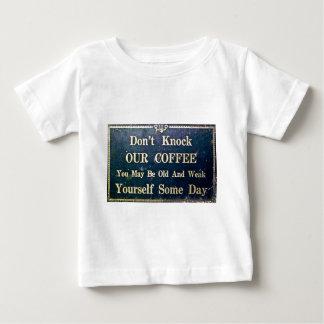 Knacka inte vårt kaffe tee