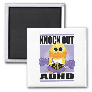 Knackning ut ADHD Kylskåps Magneter