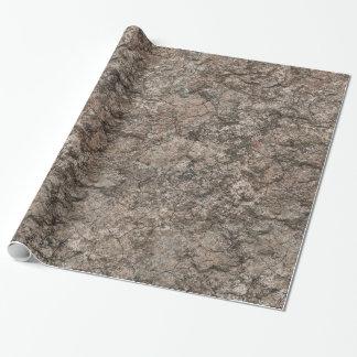 Knäckt torr bakgrund för ökenbottenvåningstruktur presentpapper