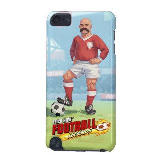 Knäpp sparkar fotbolllegender - iPod touch 5G fodral