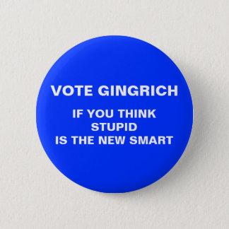 knäppas anti-gingrich val 2012 standard knapp rund 5.7 cm