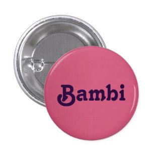 Knäppas Bambi Mini Knapp Rund 3.2 Cm