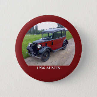 Knäppas den Austin 7 rubyen 1936 Standard Knapp Rund 5.7 Cm