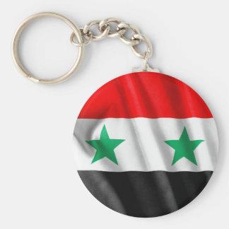 Knäppas den grundläggande rundan för den Syrien Rund Nyckelring