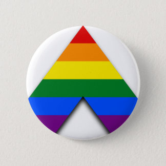 Knäppas den raka bundsförvanten för LGBT Standard Knapp Rund 5.7 Cm