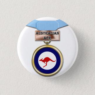 Knäppas den topp- medaljen för australier mini knapp rund 3.2 cm