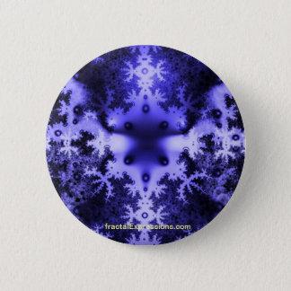Knäppas - fractalen snyltar standard knapp rund 5.7 cm