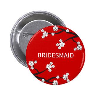 Knäppas gifta sig för blommar för BRUDTÄRNAvit Standard Knapp Rund 5.7 Cm