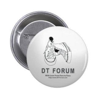 Knäppas logotypen för rundaavskiljare-fora standard knapp rund 5.7 cm