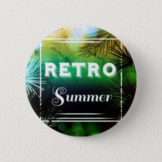 Knäppas stilfull vintage för den Retro sommaren Standard Knapp Rund 5.7 Cm