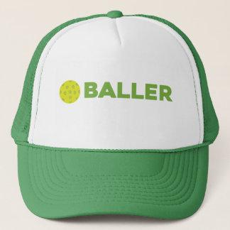 (Knipa) Baller den roliga Pickleball hatten Truckerkeps
