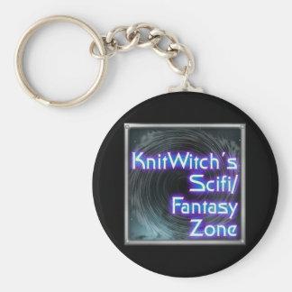 Knitwitch Keychain Rund Nyckelring