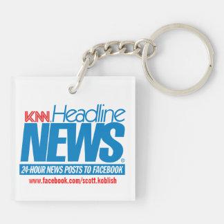 KNN den Koblish nyheterna knyter kontakt Keychain