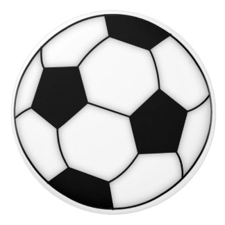 Knoppar för fotbollbollporslin