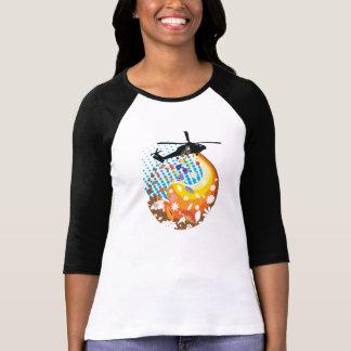 Knoppar inte bombarderar t-shirt
