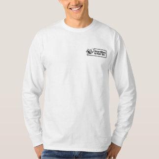 KnowWhereToHoldem Long muff manar skjorta Tee Shirts
