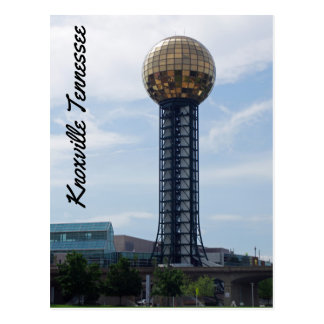 Knoxville Tennessee Vykort