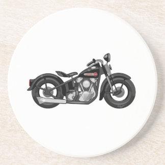 Knuckleheadmotorcykel Underlägg Sandsten