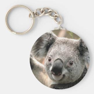 Koala Cutie Keychain Rund Nyckelring