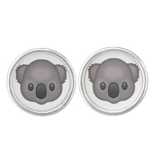 Koala Emoji Manschettknappar