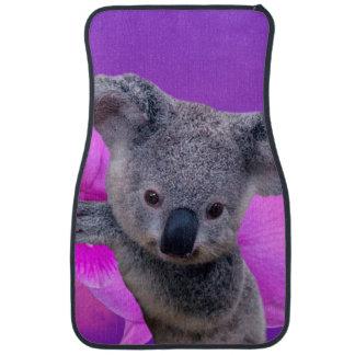 Koala och Orchids Bilmatta