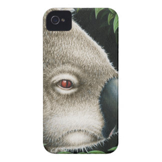 Koala som mumsar ett löv iPhone 4 cases