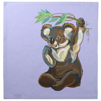 koalabjörn tygservett