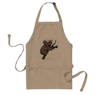 Koalabjörnprickskytt Förkläde