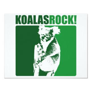 Koalassten! #4 10,8 x 14 cm inbjudningskort