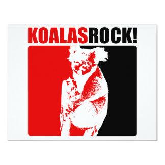 Koalassten! #8 10,8 x 14 cm inbjudningskort