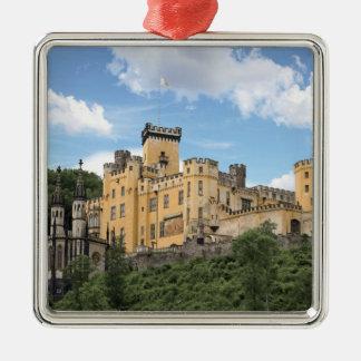 Koblenz Tyskland, Stolzenfels slott, Schloss Julgransprydnad Metall